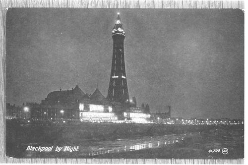 Blackpool by Night.