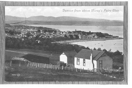 Dunoon from above Morag's Fairy Glen.