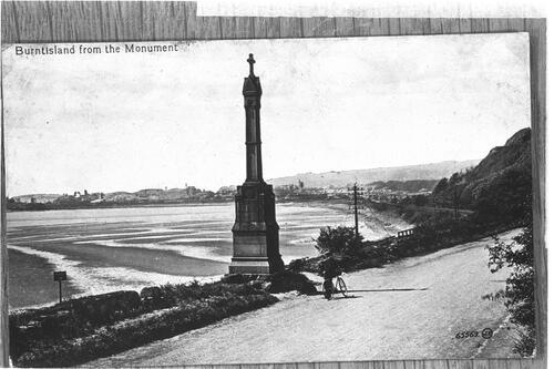 Burntisland from the Monument.
