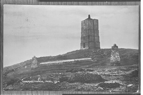 Gorrin's Tower, Peel, IOM.