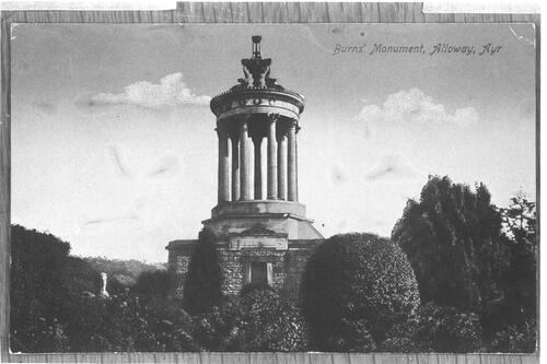 Burns' Monument, Alloway, Ayr.