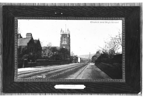Church and High Street, Rishton.