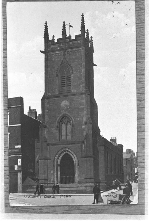 St Michael's Church, Chester.