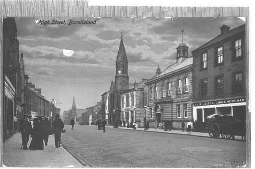 High Street, Burntisland.
