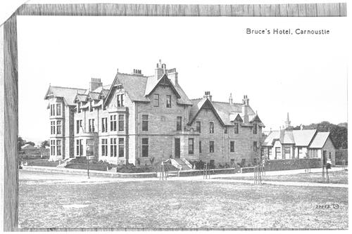 Bruce's Hotel, Carnoustie.