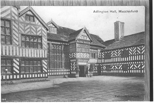Adlington Hall, Macclesfield.
