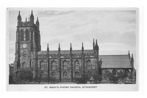 St Mary's Church, Stockport.