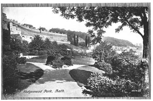 Hedgemead Park, Bath.