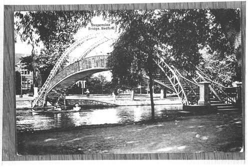 Suspension Bridge, Bedford.