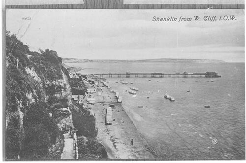 Shanklin from W Cliff, I.O.W.