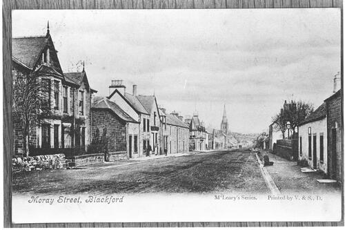 Moray Street, Blackford.