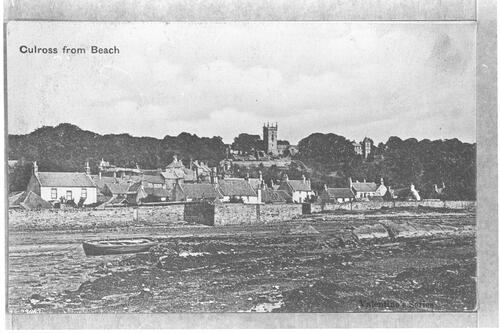 Culross from Beach.