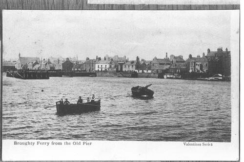 Broughty Ferry from Old Pier.