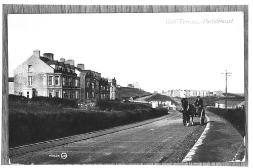 Golf Terrace, Portstewart.