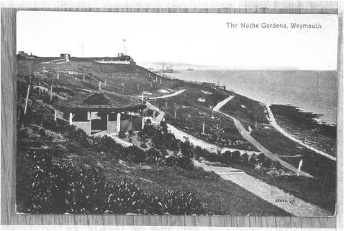 The Nothe Gardens, Weymouth.