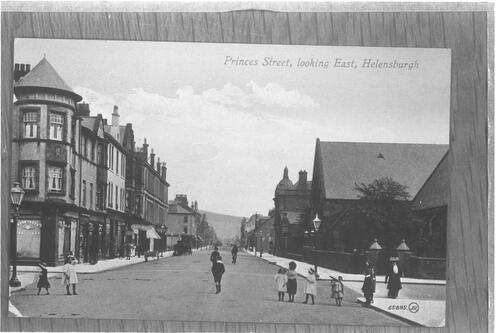 Princes Street, Looking East, Helensburgh.