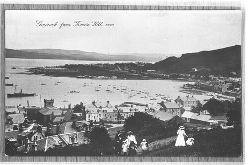 Gourock from Tower Hill.