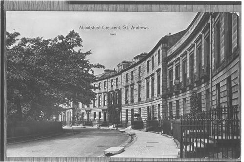 Abbotsford Crescent, St Andrews.