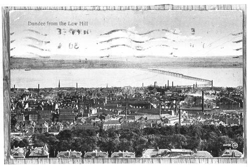Dundee from the Law Hill.