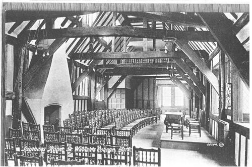 Laymens Room, St Williams College, York.