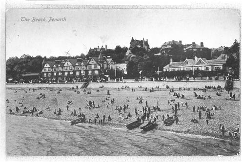 The Beach, Penarth.