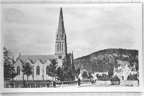 Church Square, Ballater.