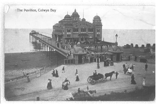 The Pavilion, Colwyn Bay.