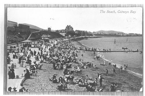 The Beach, Colwyn Bay.