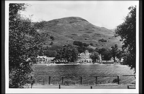 Loch Earn and Drummond Arms Hotel, St Fillans.