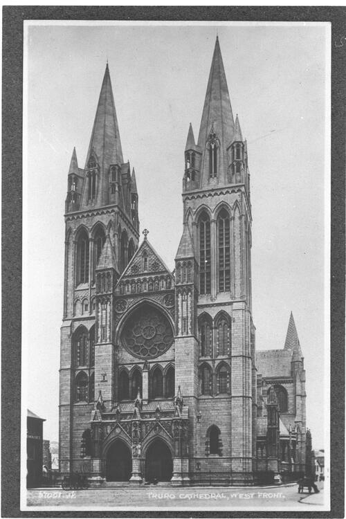 Truro Cathedral, West Front.
