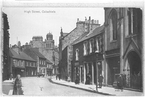 High Street, Galashiels.