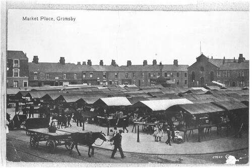 Market Place, Grimsby.
