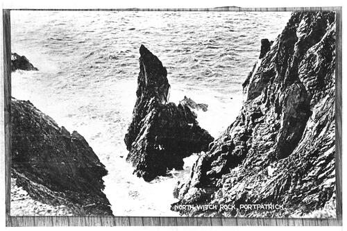 North Witch Rock, Portpatrick.