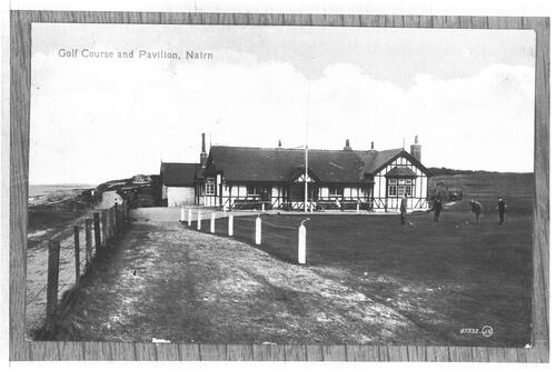 Golf Course and Pavilion, Nairn.