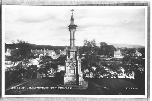 Galloway Monument, Newton-Stewart.