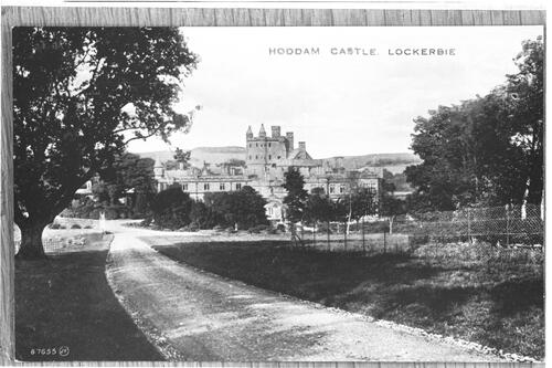 Hoddam Castle, Lockerbie.
