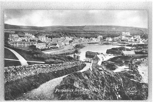 Portpatrick from North Cliff.