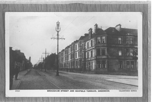 Brougham Street and Seafield Terrace, Greenock.