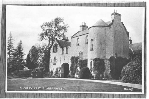 Duchray Castle, Aberfoyle.