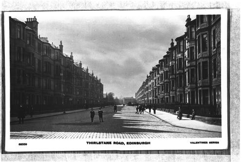 Thirlstane Road, Edinburgh.