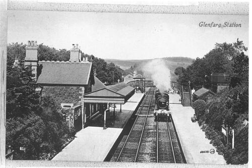 Glenfarg Station.