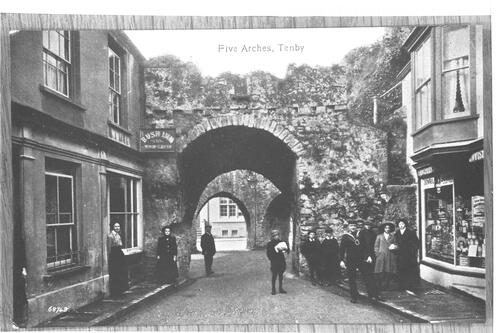 Five Arches, Tenby.