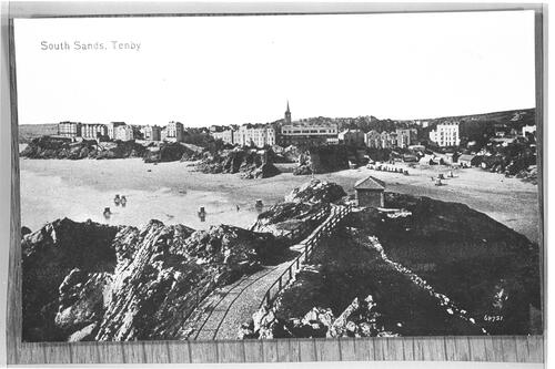 South Sands, Tenby.