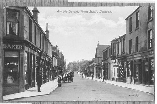 Argyle Street, from East, Dunoon.