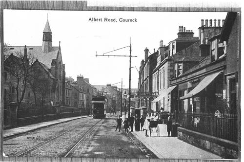 Albert Road, Gourock.