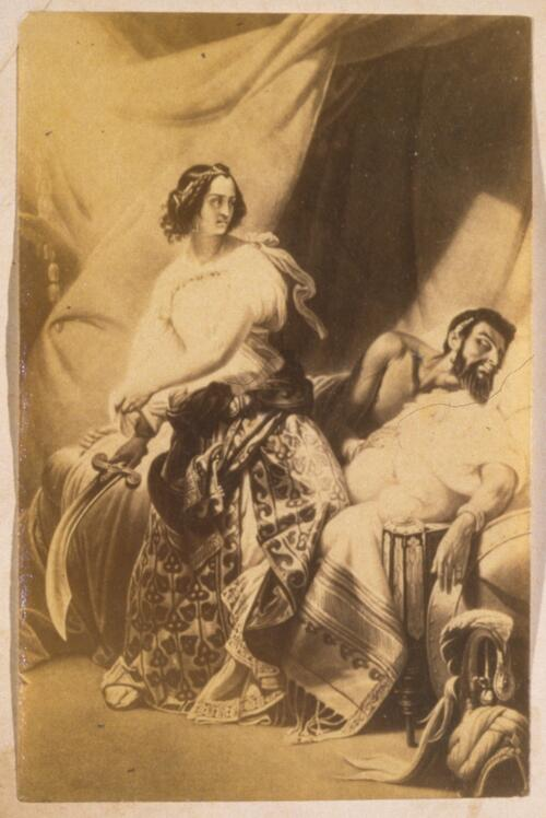 [Judith and Holofernes].
