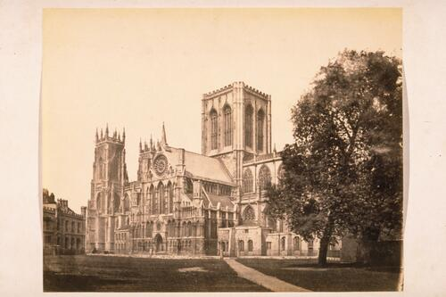 South side of York Minster, York.