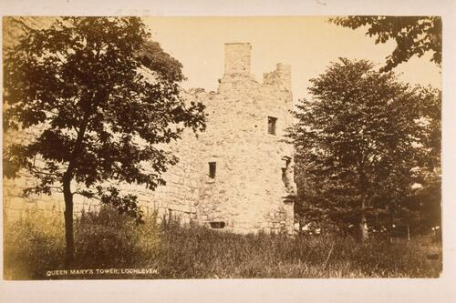 Queen Mary's Tower, Lochleven.