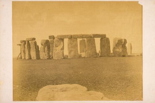 Stonehenge from South East.