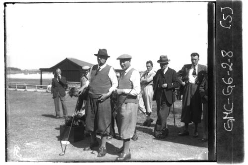 Golfers on the Old Course, the Open Championship, St Andrews 1933